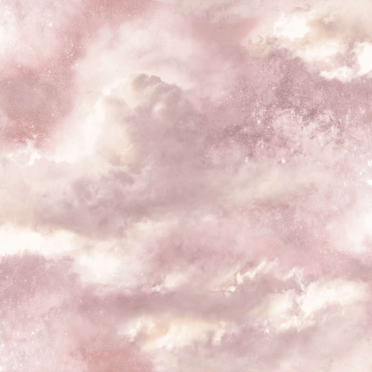 Diamond Galaxy Cloud Wallpaper Blush Pink Arthouse 260006