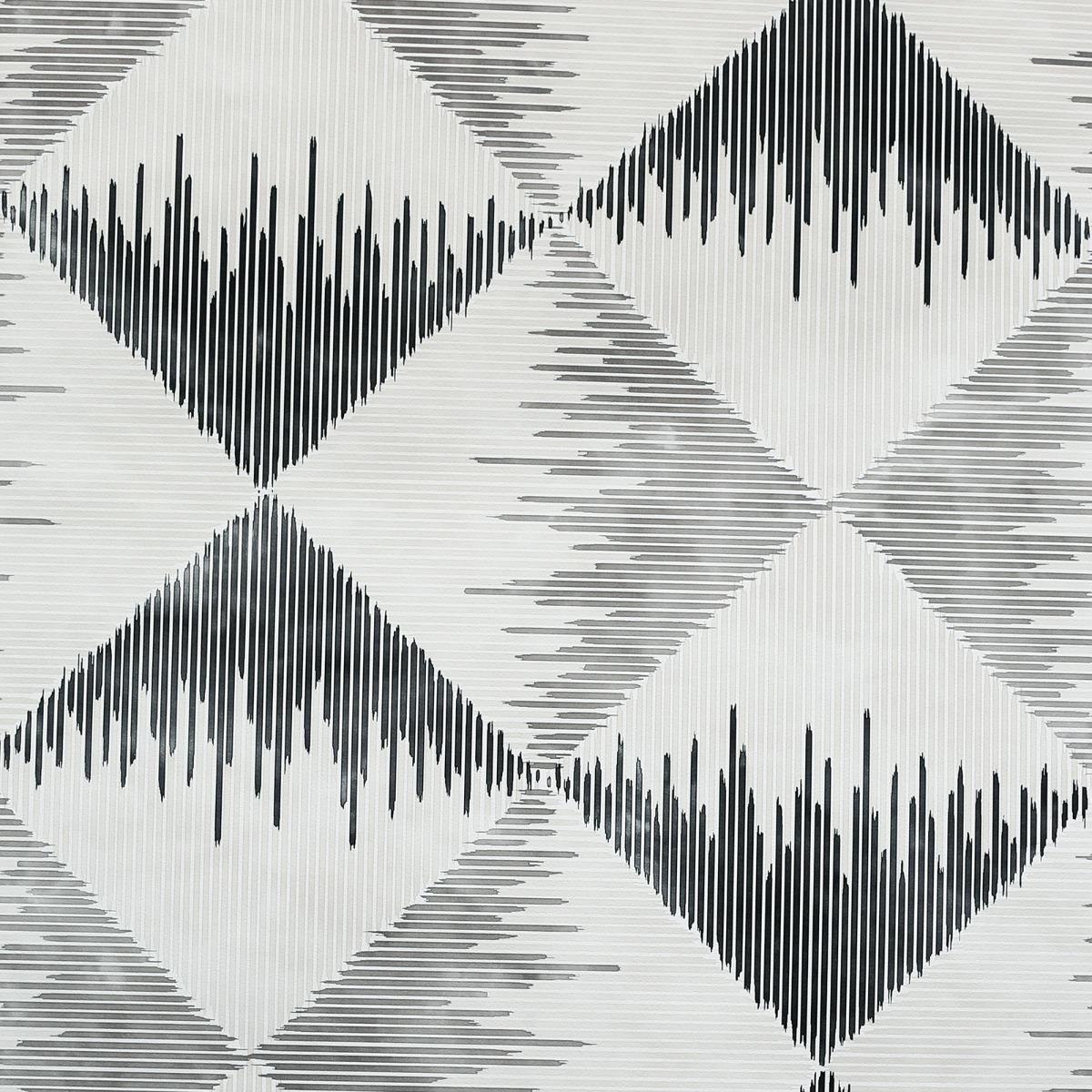 Aztec Geometric Wallpaper Mono Arthouse 909401