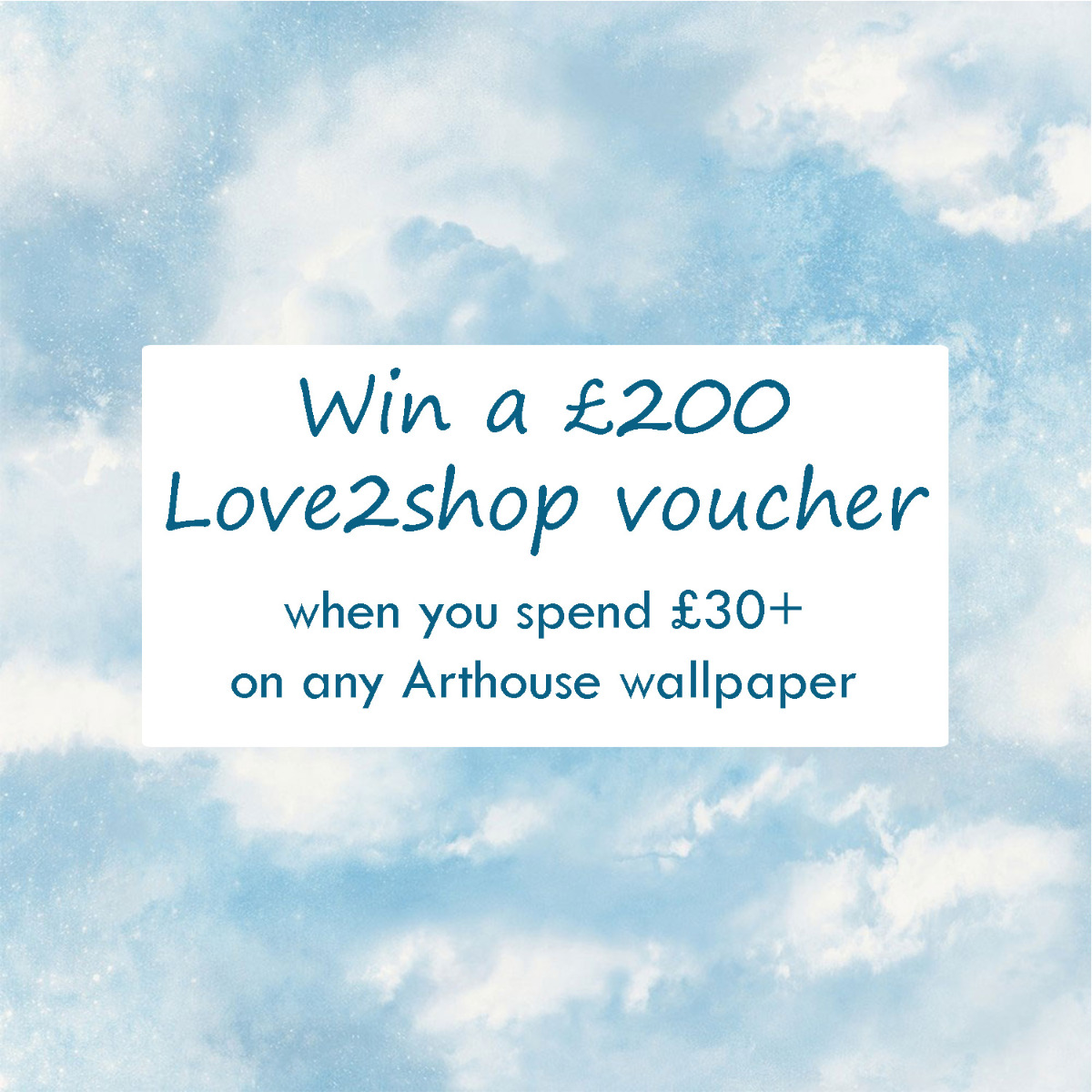 competition prize win £200 Love2Shop Voucher