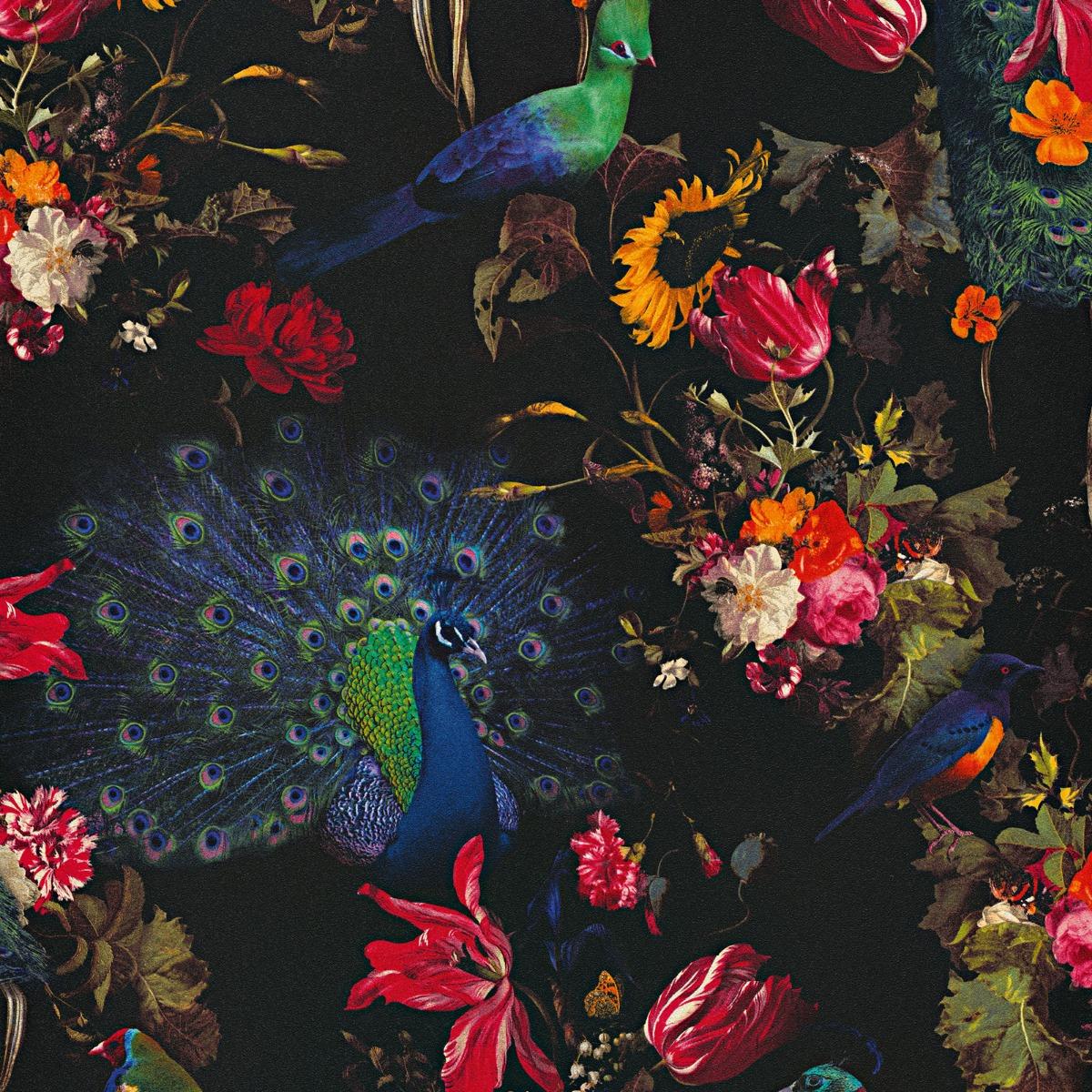 Erismann Instawalls Peacock Wallpaper