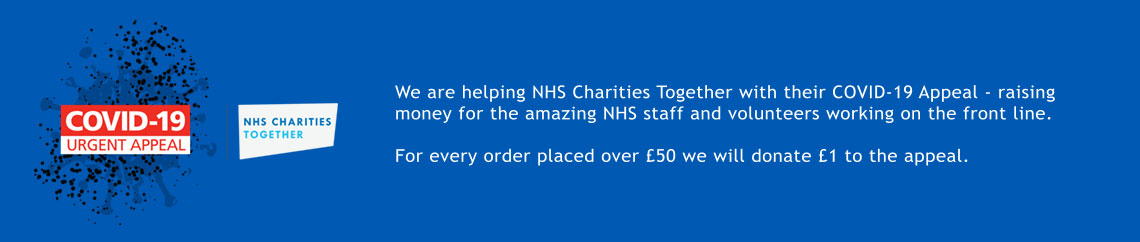 NHS Covid-19 Appeal Fundraising banner