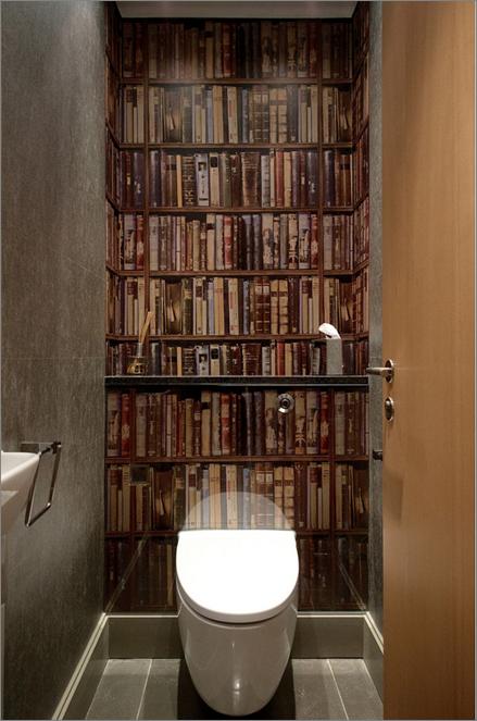 houzz bookcase wallpaper