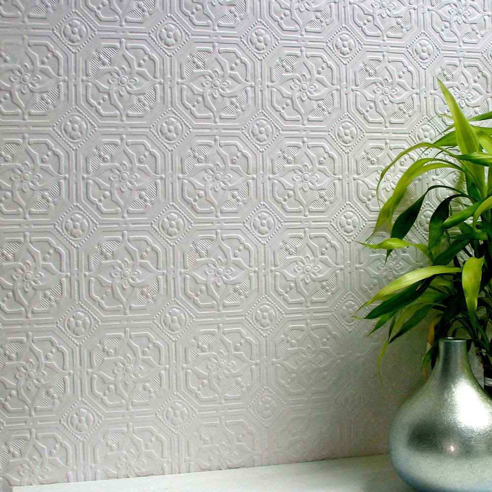 Derby Paintable Textured Wallpaper Anaglypta RD124