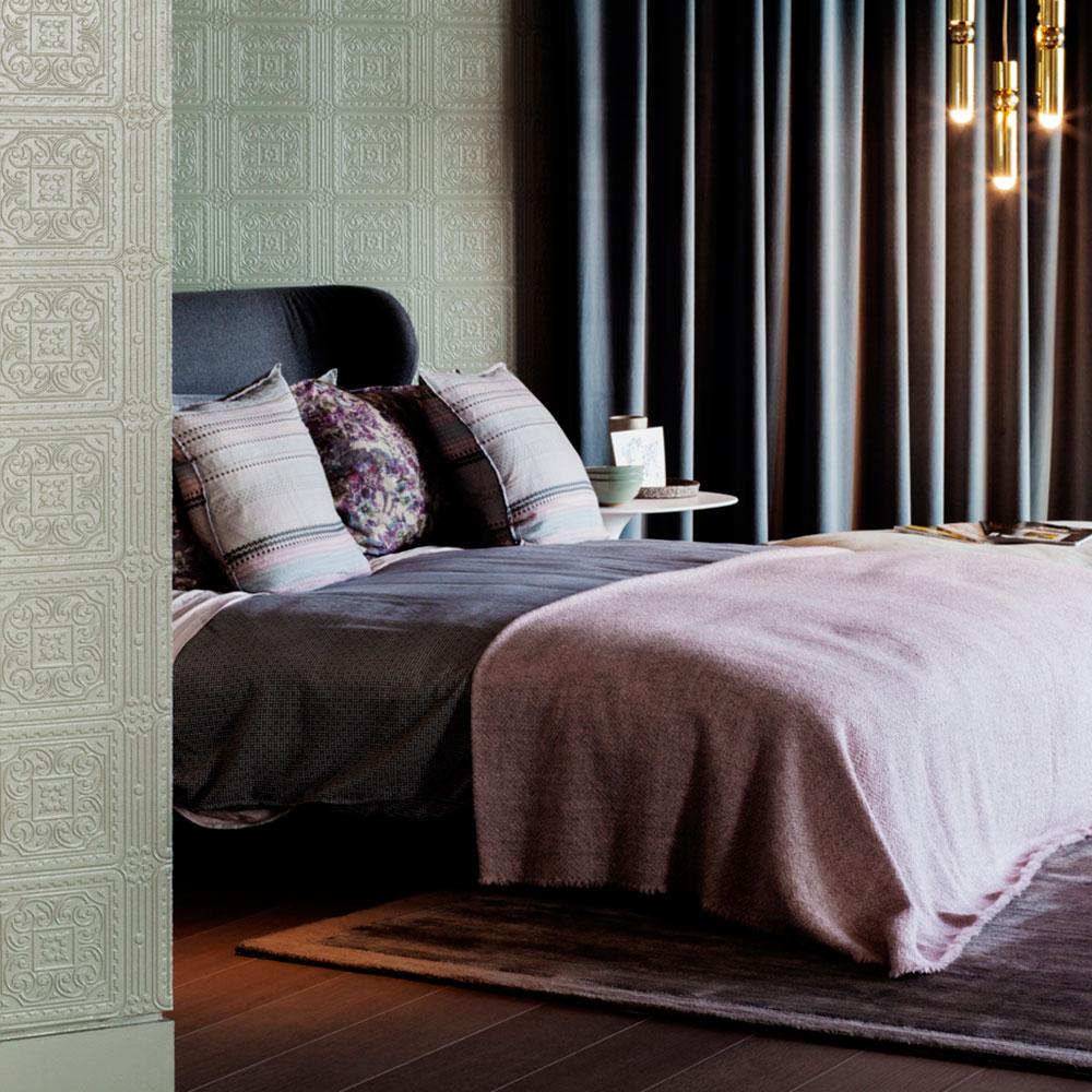 Turner Tile Paintable Textured Vinyl Wallpaper Anaglypta RD80000