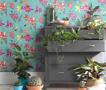 FLoral spring style wallpaper for sale