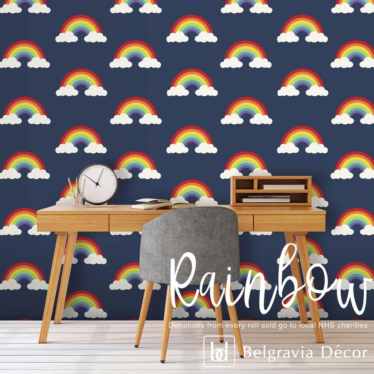 Belgravia Rainbow Blue