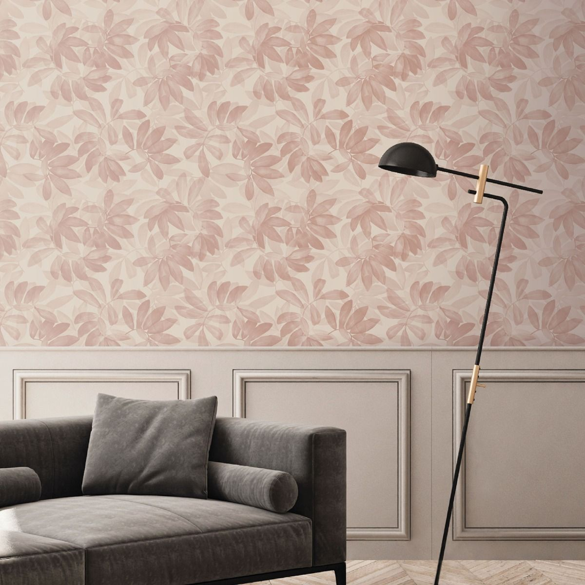 Ted's Enchanted Collection Houdini Wallpaper-Pale Pink, Ted Baker 12483