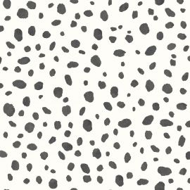 Dalmatian Spot Print Wallpaper Black and White Holden 12940