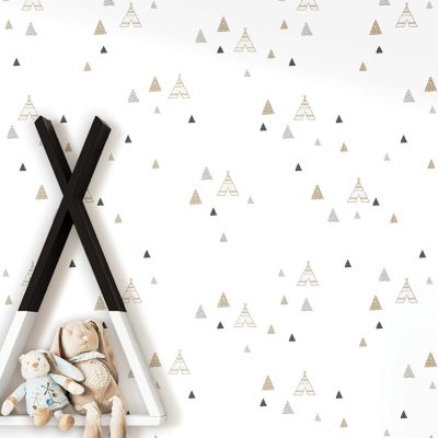 5441 Gold Wallpaper Little Explorers Teepees Galerie 541