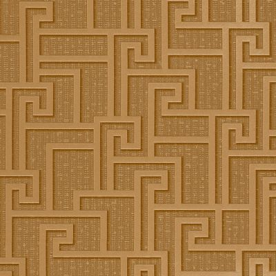 Versace Parvus Greek Key Wallpaper - Gold - 96236-1 - 10m x 70cm