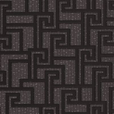 Versace Parvus Greek Key Wallpaper - Black - 96236-3 - 10m x 70cm