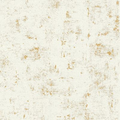 Industrial Concrete Wallpaper Metallic Gold / White AS Creation AS230775