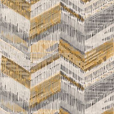 Journeys Chevron Weave Wallpaper Orche Arthouse 610801
