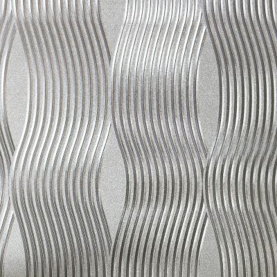 Foil Wave Wallpaper Rose Gold Arthouse 294500