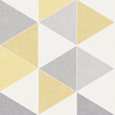Scandi Geo Triangle Wallpaper - Teal and Grey - Arthouse 908205