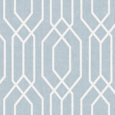 New York Geo Trellis Wallpaper - Teal - Arthouse 908209