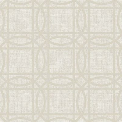 Geo Diamond Foil Wallpaper Silver Arthouse 903300
