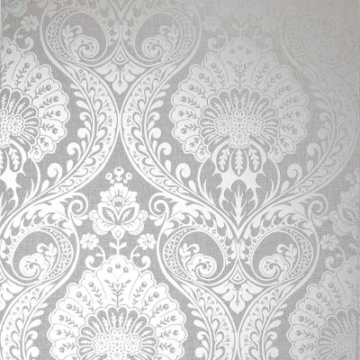 Luxe Damask Wallpaper Navy Gold Arthouse 910308