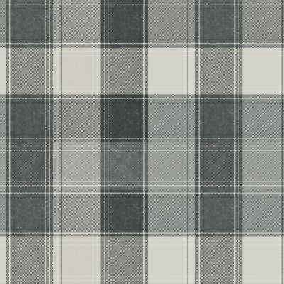 Country Check Wallpaper Mono Arthouse 906703