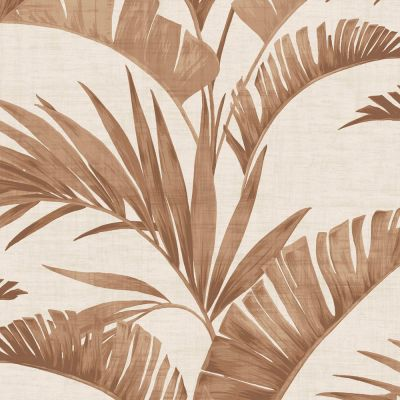 Journeys Banana Palm Wallpaper Coffee Arthouse 610602