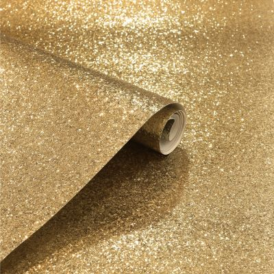 Sequin Sparkle Glitter Wallpaper Gold Arthouse 900902