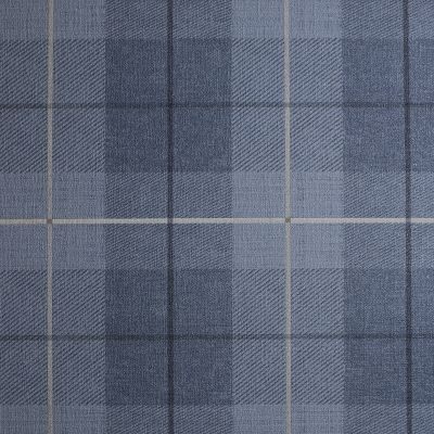 Country Tartan Wallpaper Denim Blue Arthouse 294902