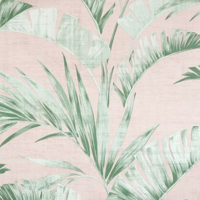 Banana Palm Wallpaper Pink / Green Arthouse 909402