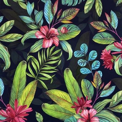 Tropical Paradise Wallpaper Multi Arthouse 909406