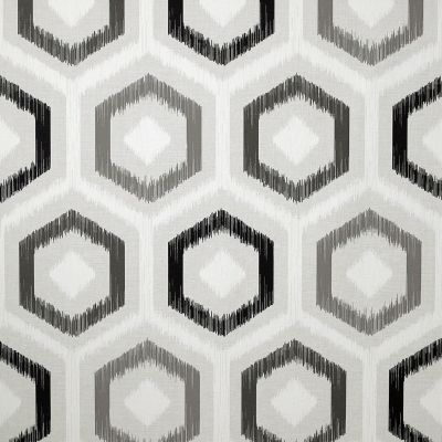 Ikat Geometric Wallpaper Mono Arthouse 296801