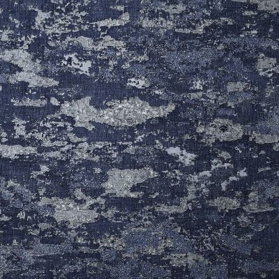 Patina Texture Wallpaper Navy / Silver Arthouse 297602