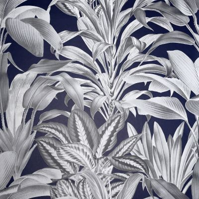 Greenhouse Plants Wallpaper Navy Arthouse 909501