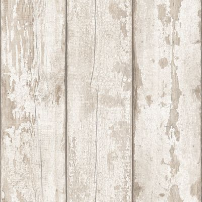Artistick White Washed Wood Self Adhesive Wallpaper Arthouse 300205 6m x 0.53m
