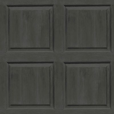 Artistick Washed Panel Self Adhesive Wallpaper Charcoal Arthouse 300226 6m x 0.53m