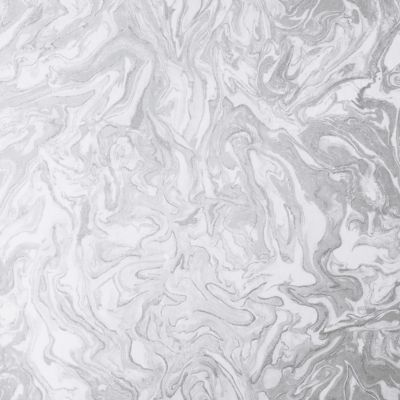 Liquid Marble Glitter Wallpaper Grey Arthouse 693901