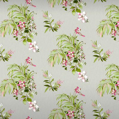 Botanique Floral Glitter Wallpaper Grey Belgravia 3421