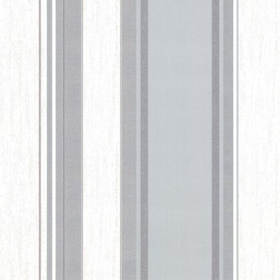 Synergy Stripe Wallpaper Dove Grey Vymura M0853