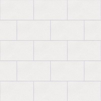Crown London Tile Glitter Wallpaper White M1054