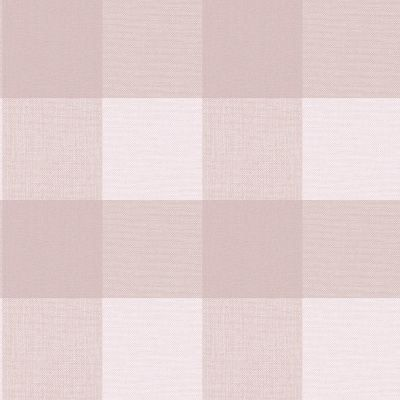 Crown Glamorous Check Wallpaper Rose M1504