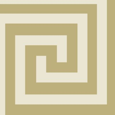 Athena Geometric Wallpaper Champagne / Gold Debona 4012