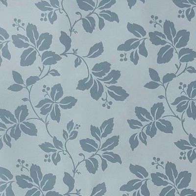 Blue Leaf Wallpaper Blue Fine Decor FD68767