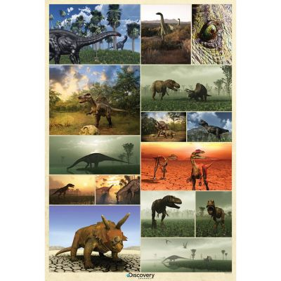Discovery Channel Dinosaur Mural 232cm x 158cm | Decor