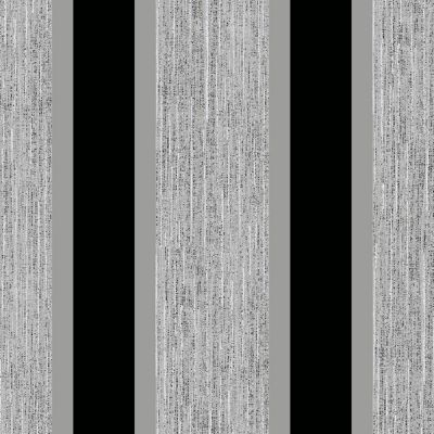Stripe Wallpaper Black and Silver Direct Wallpapers E87519