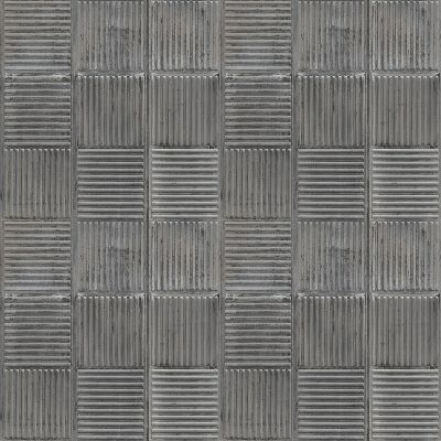 Grunge Collection Steel Plates Charcoal Galerie G45333