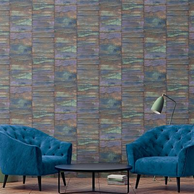 Grunge Collection Railway Sleepers Multicolor Galerie G45342