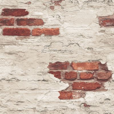 Grunge Collection Exposed Brick Red Galerie G45354