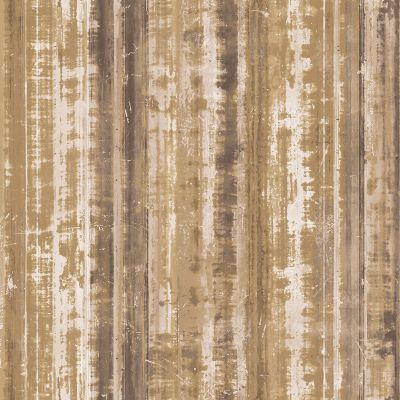 Grunge Collection Corrugated Metal Gold Galerie G45357