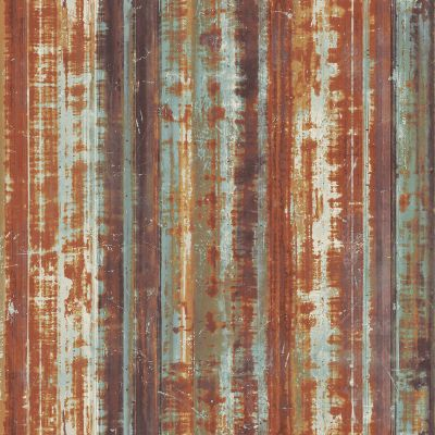 Grunge Collection Corrugated Metal Rust Galerie G45358