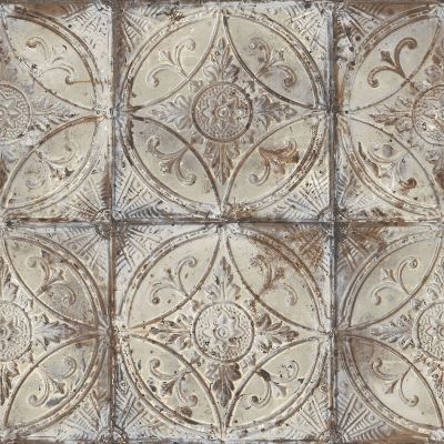 Grunge Collection Tin Tile Grey Galerie G45373