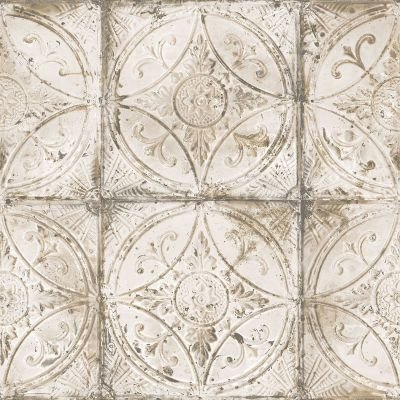Grunge Collection Tin Tile Neutral Galerie G45374