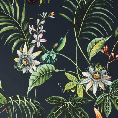Superfresco Easy Adilah Floral Wallpaper Dark Graham & Brown 106976